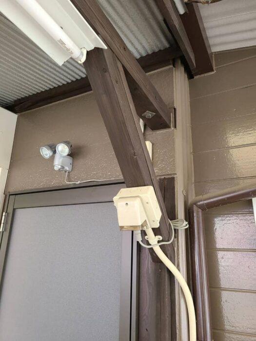 防犯灯設置